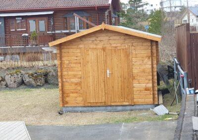 Stapi - Garðhús 14,98fm - Kofar og hús